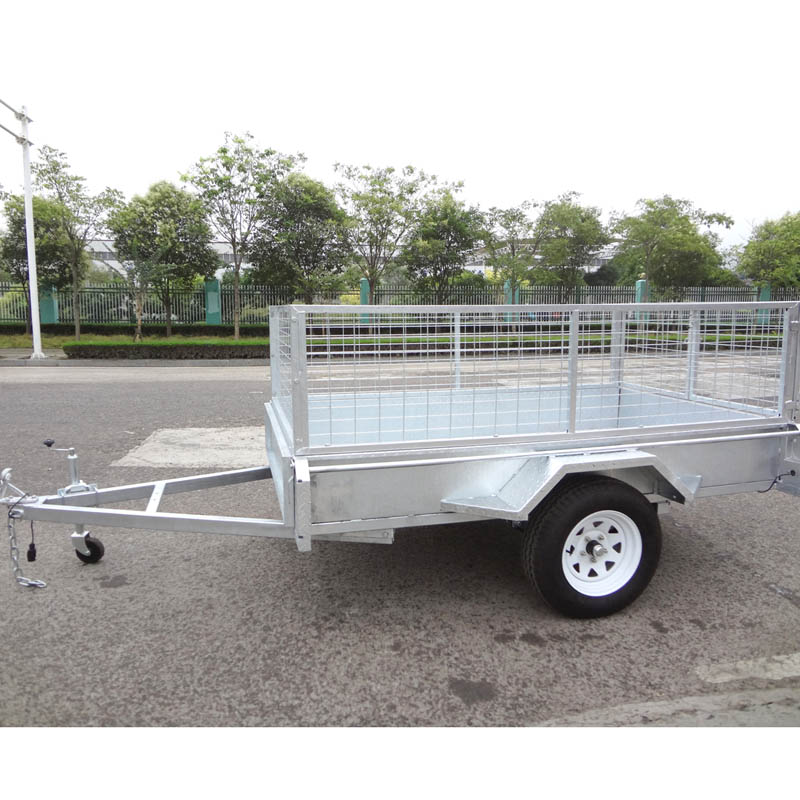 small 7x4 box trailer